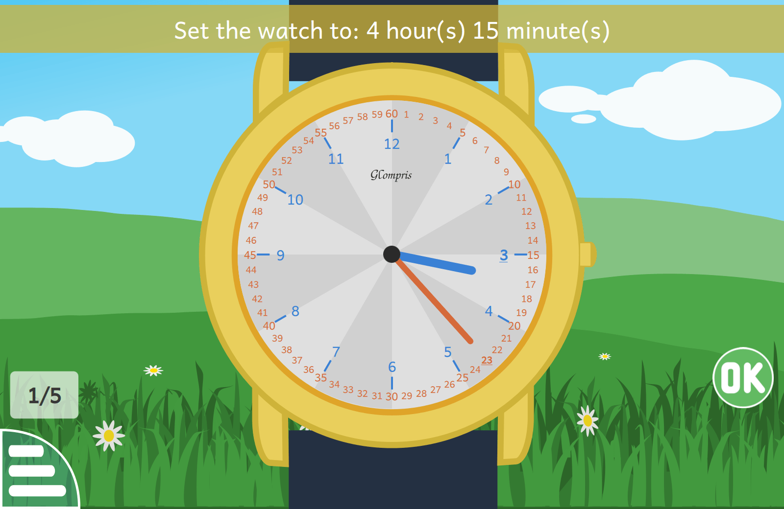 """Learning Clock"" activity"